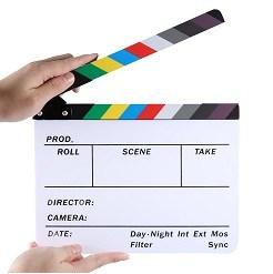 Bảng clapper board quay phim