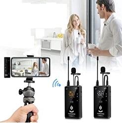 Micro thu âm không dây cho iPhone 2 người YC-WM500A2