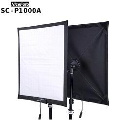 Bộ 2 đèn led cuộn 200w NiceFoto SC-P1000A 3200K - 5600K