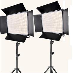 Bộ 2 đèn led bảng Studio 200w A-2200IQ Yidoblo