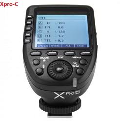 Trigger Godox Xpro-C cho canon