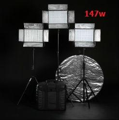 Bộ 3 đèn led bảng 147w falconeyes