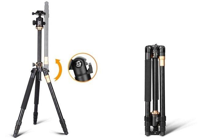 chân máy ảnh chuyên nghiệp Q999H