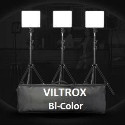 Bộ 3 đèn LED VL-200 Bi-color Viltrox