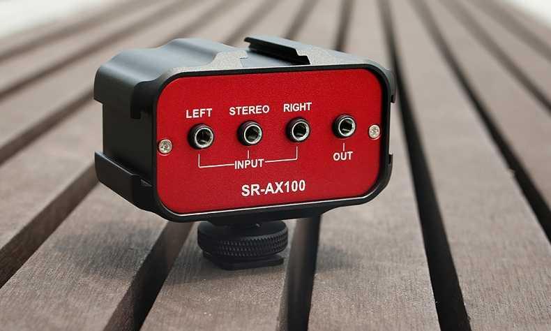 Mixer audio adapter Saramonic SR-AX100
