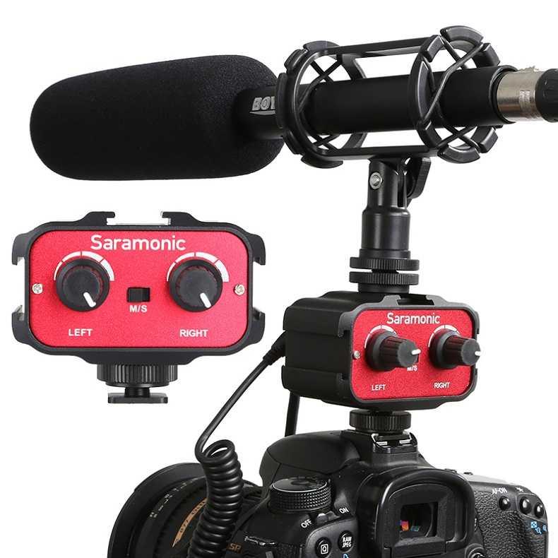Saramonic SR-AX100 2-Channenl Audio Adapter for DSLR