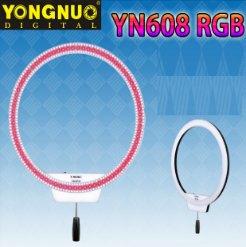 Đèn LED Ring Yongnuo YN608 RGB