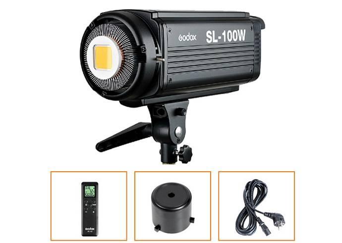 Đèn led quay phim Godox SL-100W