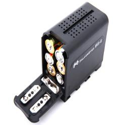 Hộp chuyển đổi Pin AA sang NP-F970 Falconeyes