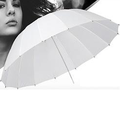 Mua dù xuyên sáng 16 cạnh 102cm