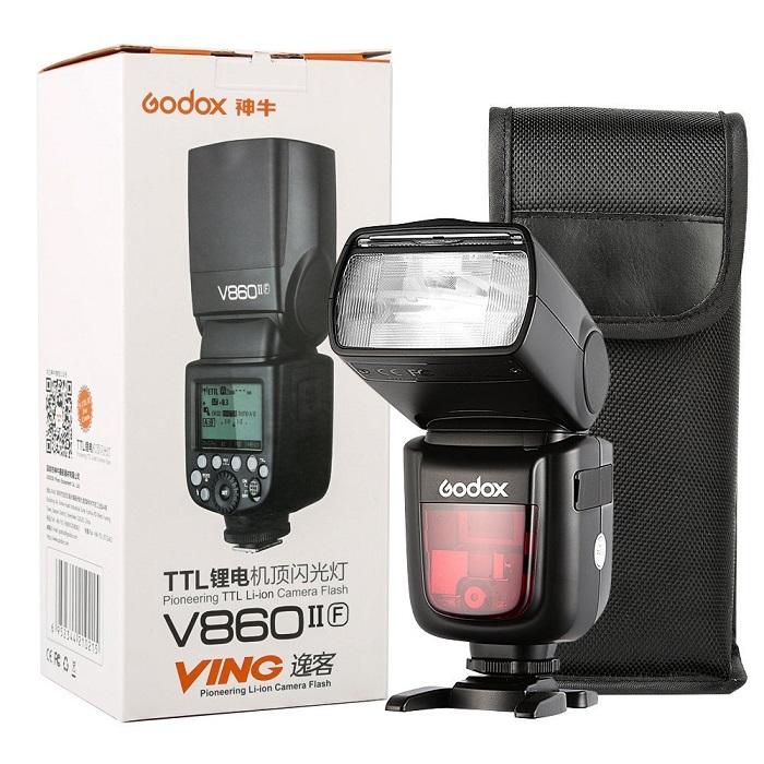 Đèn flash godox V860II cho máy ảnh Nikon
