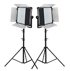 Bộ 2 đèn led bảng Studio 160w D-1080II Yidoblo