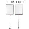Bộ 2 đèn led cuộn 200w NiceFoto SC-P1000B 5600K