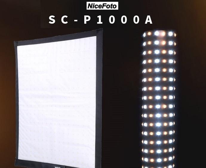 Đèn Led cuộn Nicefoto SC-P1000A Flex 100w 3200K- 5600K