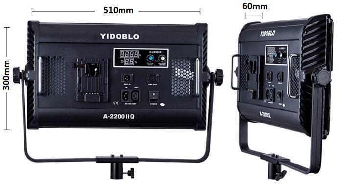 Đèn led A-2200IIQ 100w 3200K-5600K Yidoblo