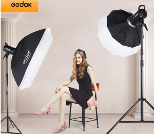 Bộ 2 đèn led studio Godox SL60W