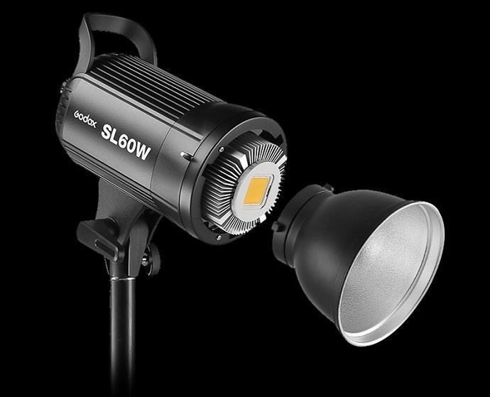 Bộ 2 đèn studio Godox SL60W 120w