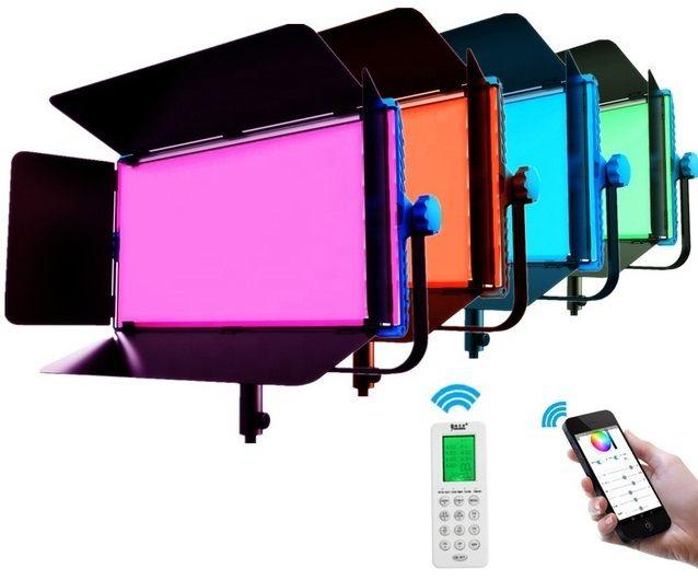 Đèn led quay phim 180w A-2200C RGB Yidoblo