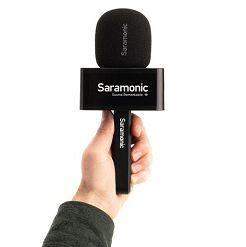 Tay cầm phỏng vấn cho Saramonic Blink 500 Pro