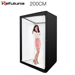 Hộp chụp sản phẩm, người mẫu thời trang cỡ lớn 120x100x200cm