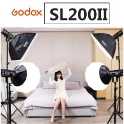 Bộ 4 đèn led studio Godox SL200 II