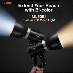 Đèn Led Godox ML60Bi 2800K - 6500K