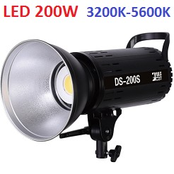 Đèn led quay phim chụp ảnh DS-200S 3200K-5600K