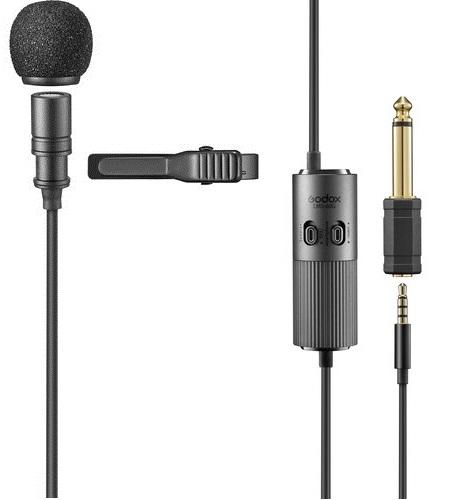 Micro thu âm cài áo Godox LMS-60G