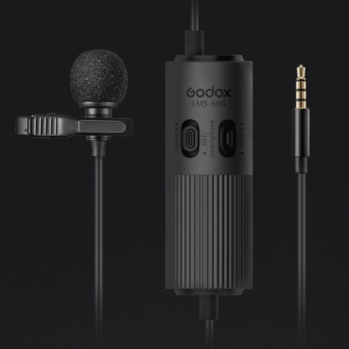 Micro cài áo Godox LMS-60G