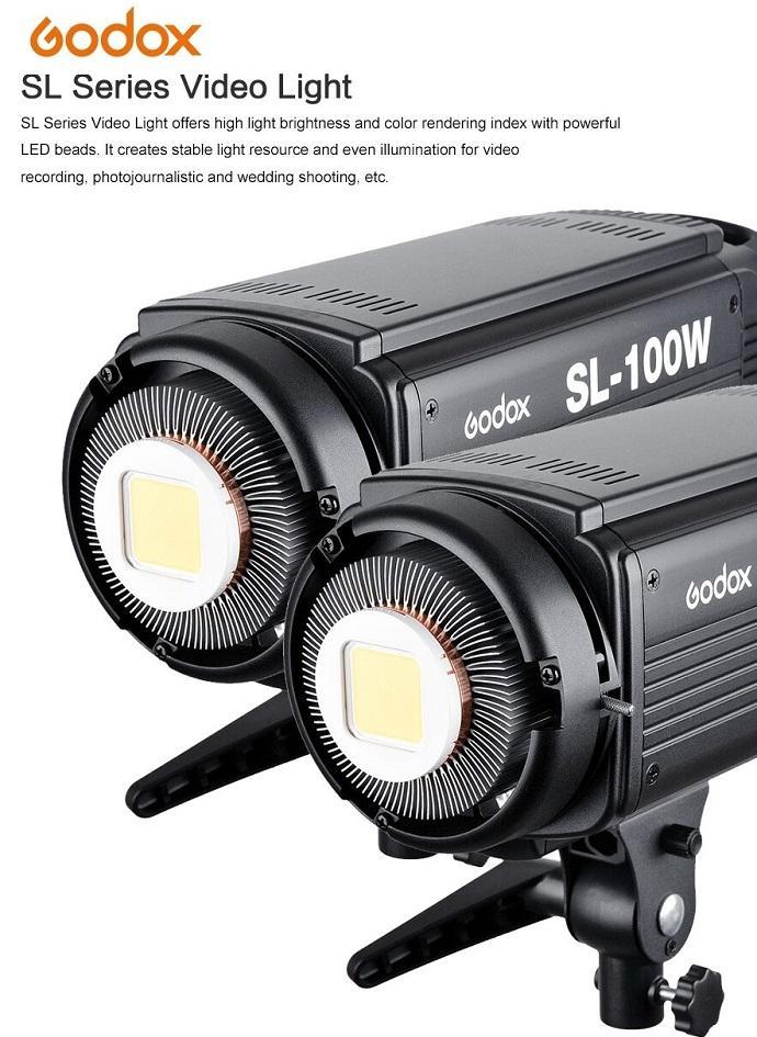 Bộ 2 đèn led Godox SL-100W