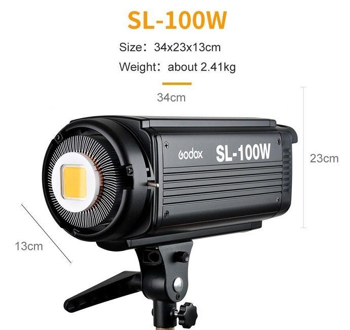 Bộ 2 đèn led SL-100W Godox