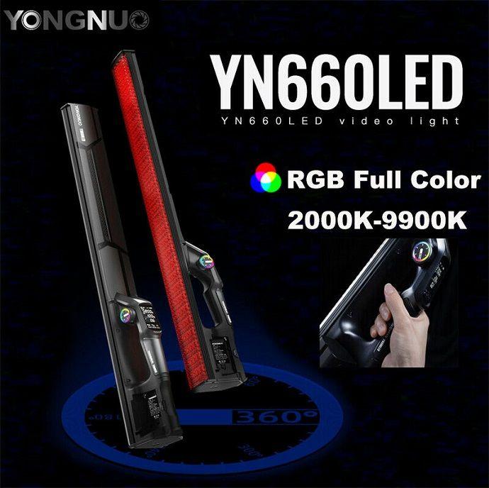 Đèn LED quay phim Yongnuo YN660LED RGB