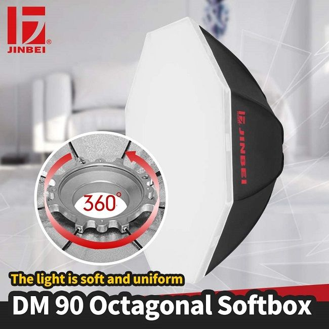 Softbox bát giác Jinbei 90cm