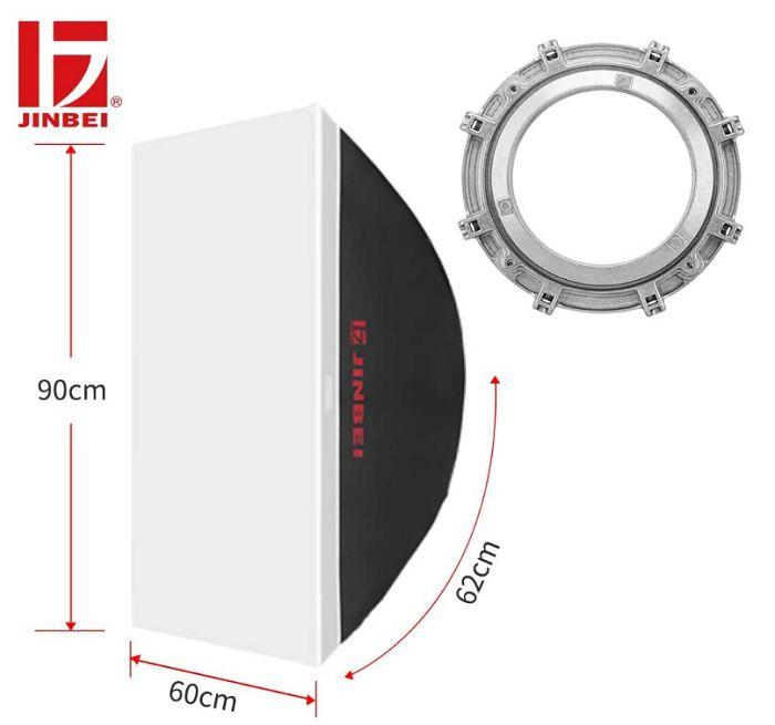Softbox tản sáng Jinbei 60x90cm