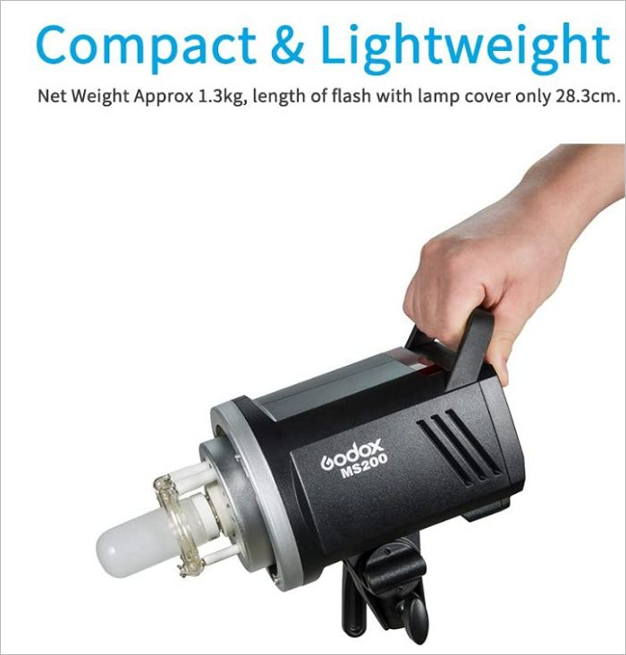 Đèn Flash studio Godox MS200 giá rẻ