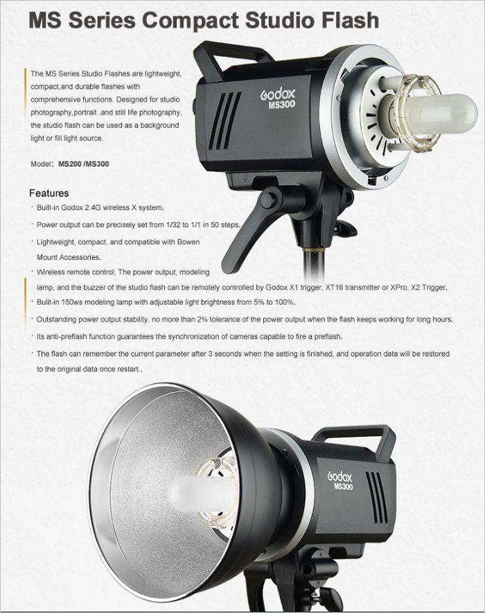 Đèn Godox MS300